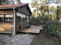 Chalet 4/6 personnes Gironde 6